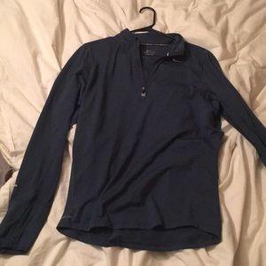 Nike Men's quarter zip dri-fit pullover